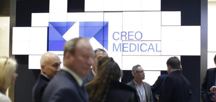 Creo Medical AIM listing at the London Stock Exchange