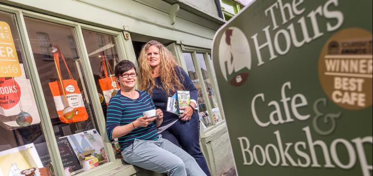 The Hours cafe and bookshop