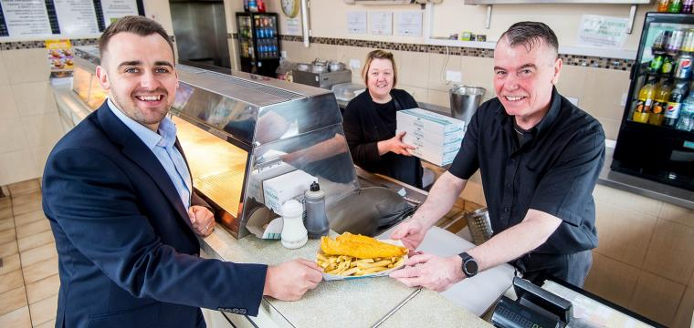 neil's fish and chip shop