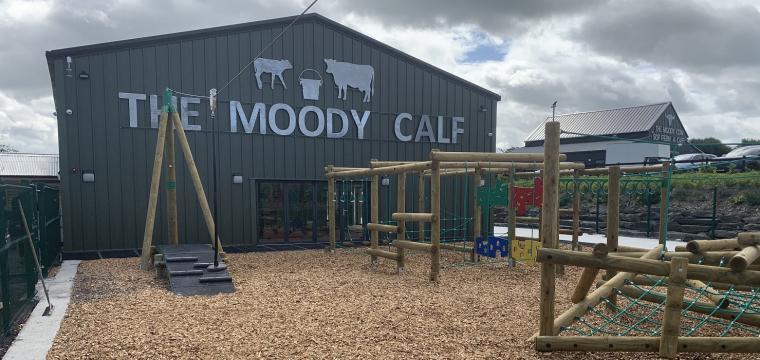 Children's soft play barn at Bargoed Farm